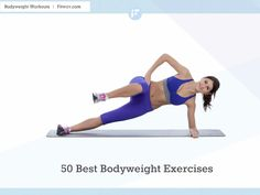 Best body weight exercises for women to get fit at home