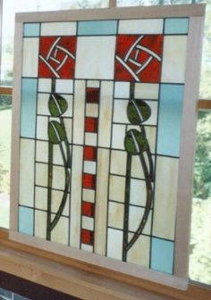 Custom Made Dard Hunter Stained Glass by PHB Stained Glass Studio   CustomMade.com