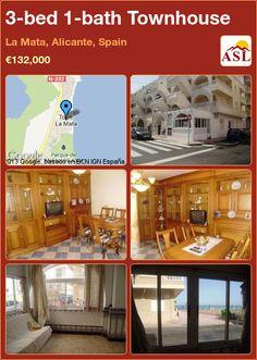 3-bed 1-bath Townhouse in La Mata, Alicante, Spain ►€132,000 #PropertyForSaleInSpain