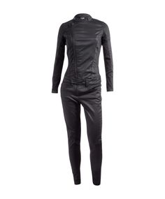 Futuristic, Jumpsuits, Overalls, Leather Pants, Zara, Fashion Outfits, Jackets, Clothes, Black