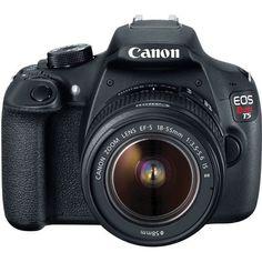 Câmera Canon EOS Rebel T5 EF-S 18-55mm 12.2 MP