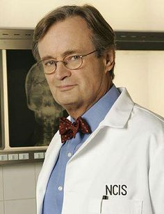 "Ducky (David McCallum)- NCIS  I loved him in ""The Man From U.N.C.L.E."" but I think he has gotten better with age.  Maybe because I am older too!"