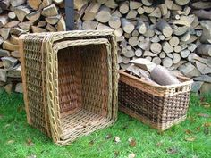 Wicker baskets. Can't have too many. The Norfolk Basket Co.