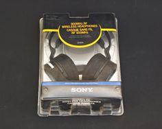 Sony MDR-RF925RK 900MHz 150-Feet Wireless Headphone Ideal for TV or Hi-Fi #Sony