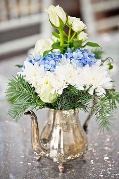 Sparkling Silver Bridal Shower Ideas