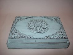 Upcycled Wooden Box by EspeciallyMade on Etsy, $35.00
