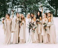 Whitney Carson & her bridesmaids