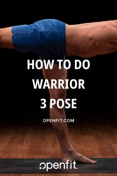 How to do warrior 3 pose in yoga Wellness Fitness, Yoga Fitness, Fitness Tips, Health Fitness, Wellness Tips, Standing Yoga Poses, Warrior 3, Advanced Yoga, Yoga Positions