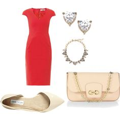 """""""Red for Light Summer"""" by afstyle on Polyvore"""