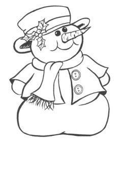 Fedora Hat On Snowman