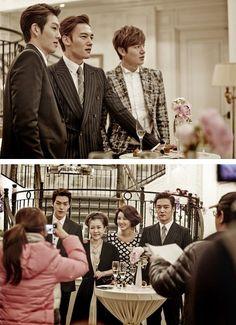 "Kim Woo Bin,Choi Jin Hyuk,Lee Min Ho ♡ #Kdrama // The ""HEIRS"" The Heirs Kdrama, Heirs Cast, Heirs Korean Drama, Watch Korean Drama, Korean Drama Quotes, Choi Jin Hyuk, Kang Min Hyuk, Asian Actors, Korean Actors"