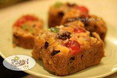 Golden Fruitcake Recipe http://www.pinoyrecipe.net/golden-fruitcake-recipe/