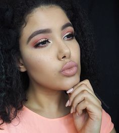 B A B Y D O L L  I was inspired by @lustrelux to recreate her peachy keen tutorial using the products that I had on hand and added some freckles to May it even cutesier . Eyes : @makeupgeekcosmetics peach smoothie for transition, @urbandecaycosmetics slowburn for the neon orange and @loveluxebeauty Imaginary for the lid. Eyebrows are @anastasiabeverlyhills Dipbrow in Chocolate and @eylureofficial 107's.  Face: @toofaced How deep is your love ?