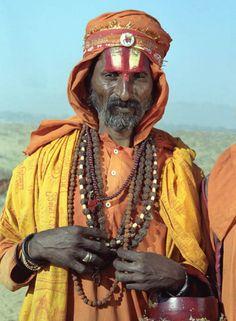 Holy Man at the Camel Market