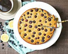 Paleo Blueberry Lemon Cake - Wholesomelicious