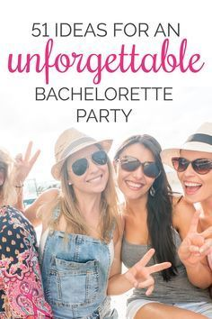 bachelorette party ideas, bridesmaid duties, maid of honor checklist, bridesmaid checklist, bachelorette games, bridesmaid gifts | 51 Ideas for an Unforgettable Bachelorette Party | Kennedy Blue
