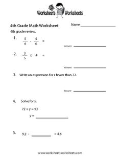 Digraph Worksheets First Grade Word Simple Fractions  Free Fractions Worksheet For Th Grade  Reflex Angles Worksheet Pdf with Order Of Operations Printable Worksheets Excel Fourth Grade Math Practice Worksheet Venn Diagram Questions Worksheet