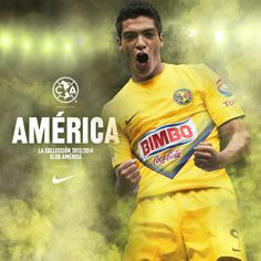 Available now, Nike Club America 2013/14 Home Jersey!
