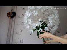 ГИГАНТСКИЕ ростовые цветы. Пион (часть I) - YouTube