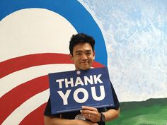 He's politically active. | 20 Reasons John Cho Should Be The Leading Man In Your Heart