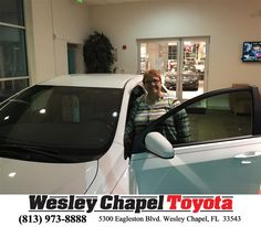 https://flic.kr/p/FAqiCz   Happy Anniversary to Beverly on your #Toyota #Corolla from Steve Blank at Wesley Chapel Toyota!   deliverymaxx.com/DealerReviews.aspx?DealerCode=NHPF
