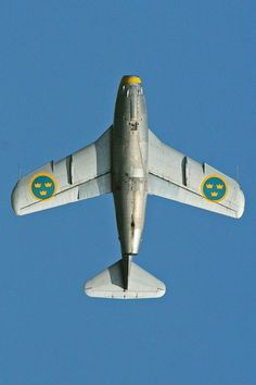 Saab J29 Tunnan - #aircrafts