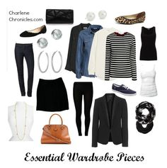 Must Have Wardrobe Essential Pieces. These are a great start to a wardrobe. Endless outfit combos and ideas. Then just add pieces here and there! #style #moms #wardrobeideas #fashion - Charlene Chronicles