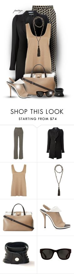 """Razza Ma Tassel"" by rockreborn ❤ liked on Polyvore featuring Diane Von Furstenberg, Ann Demeulemeester, The Row, Furla, Balenciaga and ATELIERBITS"