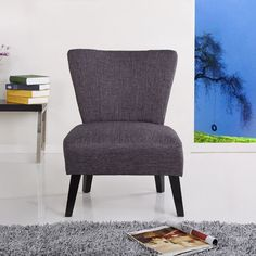 Found it at Wayfair - Alice Fabric Slipper Chair