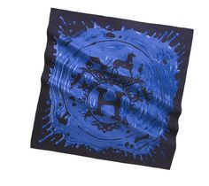 "Peinture Fraîche Silk twill scarf, hand rolled, 36"" x 36"" www.MadamPaloozaEmporium.com www.facebook.com/MadamPalooza"
