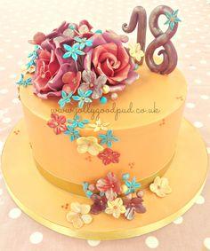 Georginas 18th birthday cake 18th birthday cake Cake and