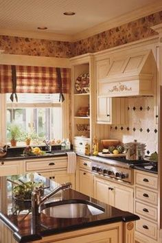 I could cook and bake in this kitchen all day!