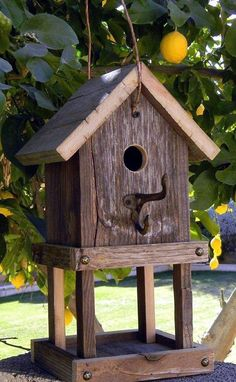 Bird House Plans 185069865925169735 - 40 Beautiful Bird House Designs You Will Fall In Love With – Bored Art Source by Bird House Plans, Bird House Kits, Bird House Feeder, Bird Feeders, Birdhouse Designs, Birdhouse Ideas, Birdhouse Post, Birdhouse Craft, Bird Aviary