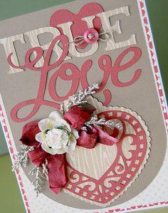 True Love... #card #cricut #Victorian_Romance