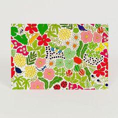 ポストカード お庭柄 - MIMURI SHOP(ミムリ)