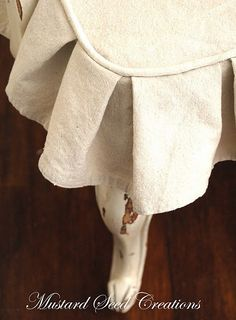 Drop cloth slip covers