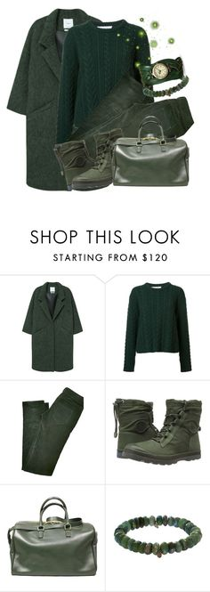 """Greens'"" by jez-alex ❤ liked on Polyvore featuring MANGO, Ryan Roche, Balenciaga, Palladium, Yves Saint Laurent, Sydney Evan and BillyTheTree"