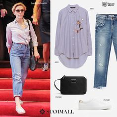 #GetTheLook Of #ScarlettJohansson with pieces you can get at #SiamMall. Give a new style to your look! #Fashion #TenerifeShopping