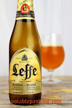 Leffe Blonde Belgian Ale | potablepastime.com