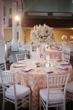 Wedding ● Tablescape & Reception Décor ● Pink