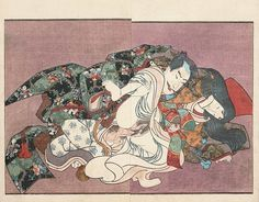 Great Kunisada shunga featuring General Minamoto. On our site we have added some gift suggestions for the art lover...!!!