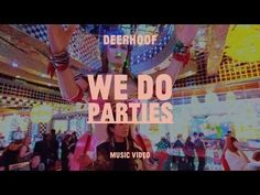 """DEERHOOF - """"We Do Parties"""" (Official Music Video).  Deerhoof is a band from San Francisco. Known for being high-energy, unpredictable and difficult to classify, Deerhoof has maintained that they never knew what kind of music they would create next, nor that they even had any idea what they were doing when they created it"""