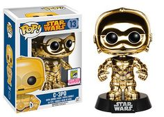 Star Wars Chrome C3PO Pop Vinyl SDCC Exclusive Details