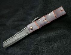 Item Details - HIGONOKAMI / TAKE - Custom Knives Gallery CHIYO