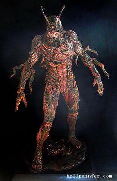 ナイトメアモデルズ NIGHTMAREMODELS ソイレントグリーン 韮沢靖 高橋ミキヤ Fantasy Beasts, Fantasy Art, Dark Creatures, Monster Design, Figure Model, Horror Art, Creature Design, Game Art, Concept Art