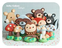 Forest Friends baby shower collection | Flickr - Photo Sharing!