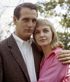 Hollywood Romances: Paul Newman and Joanne Woodward Hollywood Couples, Celebrity Couples, Celebrity Pix, Monica Bellucci, Great Love Stories, Love Story, Classic Hollywood, Old Hollywood, Hollywood Glamour