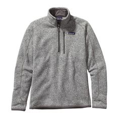 Patagonia Men\'s Better Sweater\u2122 1\/4-Zip Fleece - Stonewash STH £85