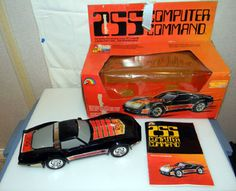 255 Computer Command car, by LJN Toys.