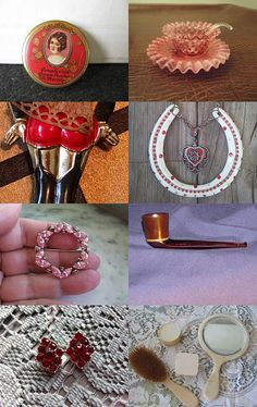 Love Vintage for Valentine's Day by Theresa on Etsy--Pinned with TreasuryPin.com